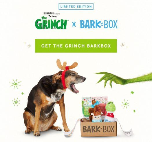 Limited Edition Grinch BarkBox - On Sale Now!