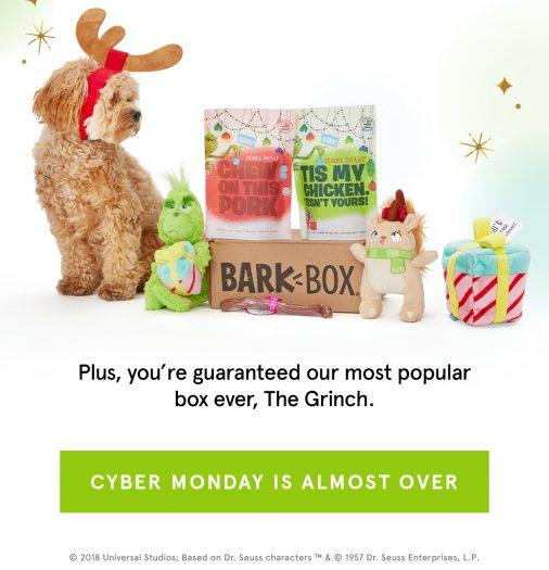 Barkbox Giving Tuesday Deal – Free Extra Toy Per Month