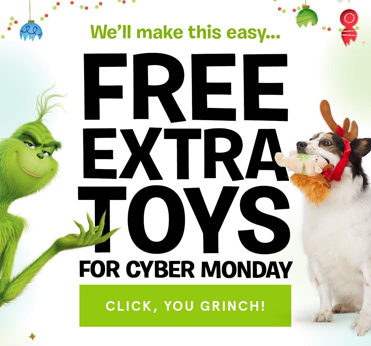 last chance barkbox cyber monday deal free extra toy per month for life subscription box. Black Bedroom Furniture Sets. Home Design Ideas