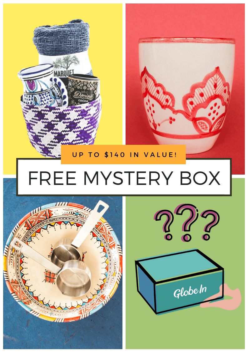 GlobeIn Artisan Box Black Friday Coupon Code – Free Mystery Box with 3+ Month Subscriptions