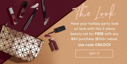 Julep Free 6-Piece Beauty Set with Shop Purchases of $40+