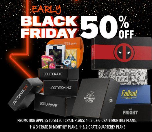 Loot Crate Sale Black Friday Sale – Save 50%!