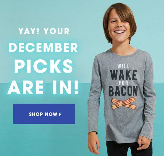 December 2018 FabKids Selection Time + New Subscriber Offer
