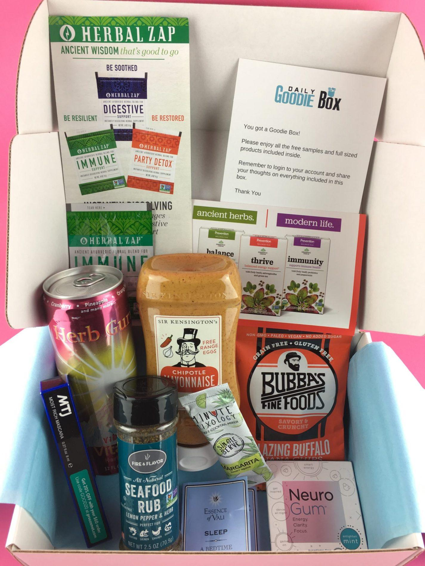 Daily Goodie Box Review – October 2018