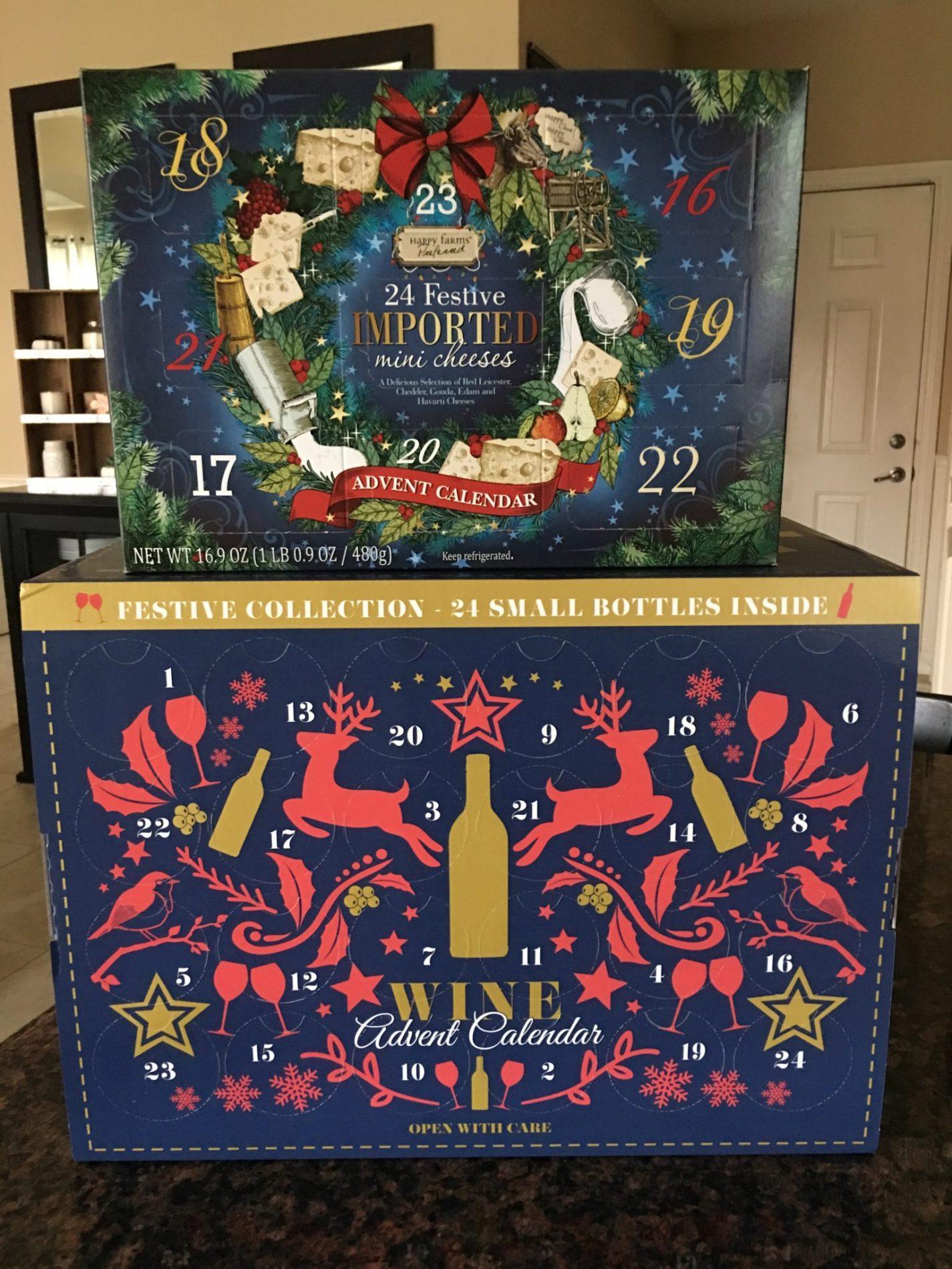 Aldi Cheese Advent Calendar.Aldi 2018 Wine Cheese Advent Calendars In Store Today