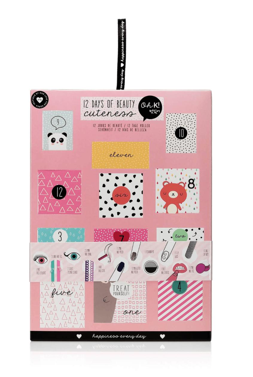 Oh K! 12 Days of Beauty Advent Calendar – On Sale Now!