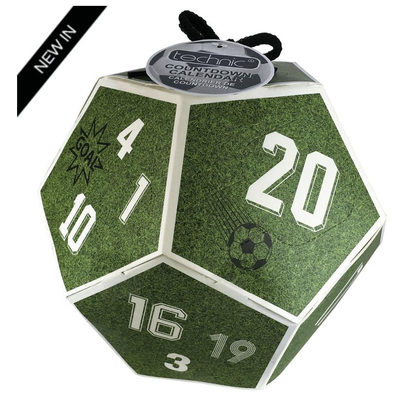 MAN'STUFF Christmas 2018 Football Countdown Calendar – On Sale Now!