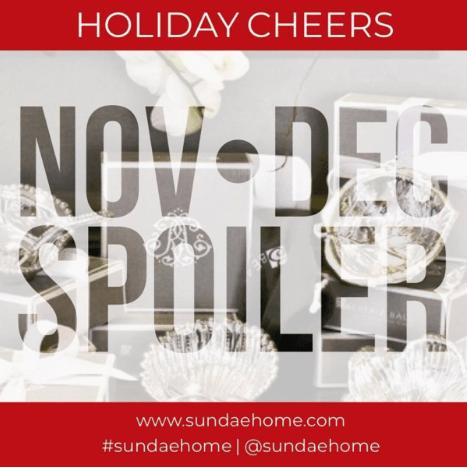 Sundae Home November / December 2018 Theme Reveal + Coupon Code!