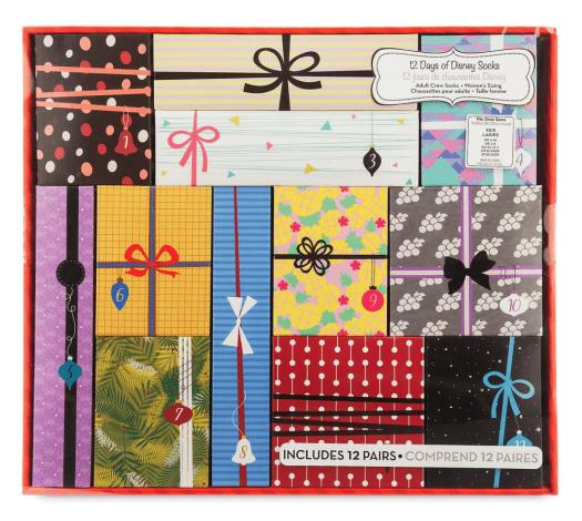 Disney Socks Advent Calendar Gift Set for Women – On Sale Now!
