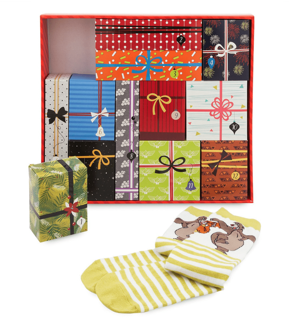 Disney Socks Advent Calendar Gift Set for Men – On Sale Now!