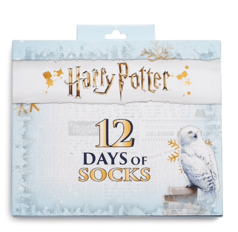 Women's Harry Potter 12 Days Of Socks Advent Calendar Set – On Sale Now!