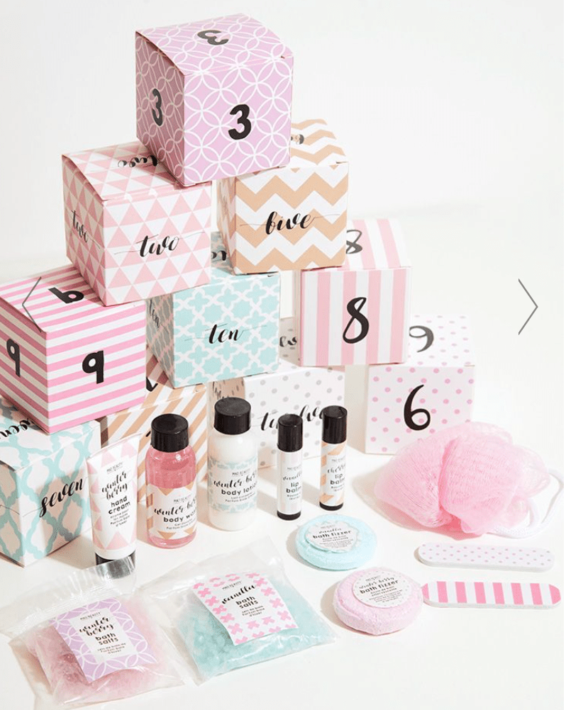 Pretty Little Thing 12 Days Of Xmas Cube Advent Calendar – On Sale Now!