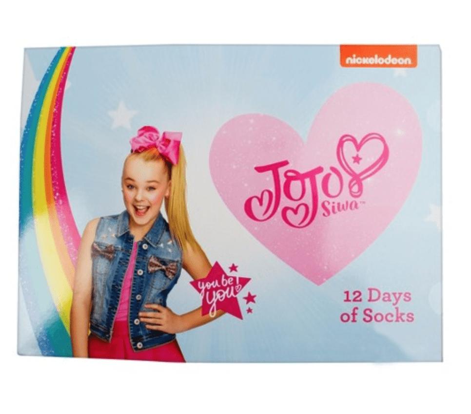 Girls' JoJo Siwa 12 Days Of Socks Advent Calendar – On Sale Now