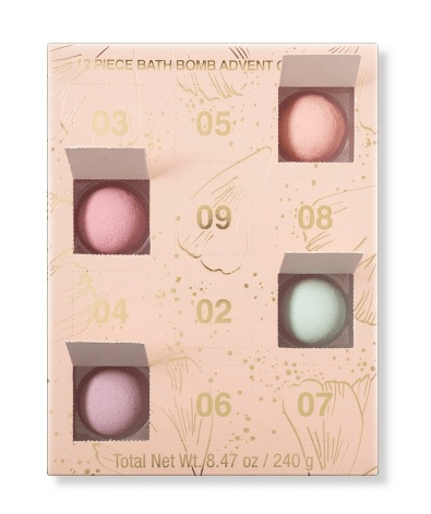 My Spa Life Everyday Indulgences Bath Bomb Advent Calendar – On Sale Now