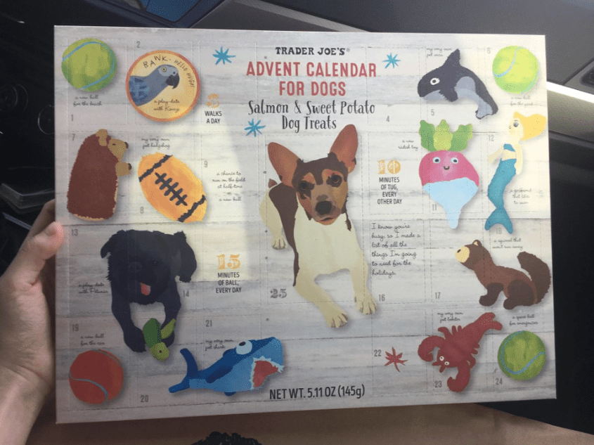 Trader Joe's Dog Advent Calendar – In Store Now!