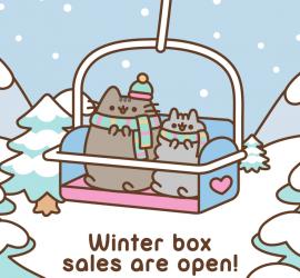Pusheen Winter 2018 Box - On Sale Now