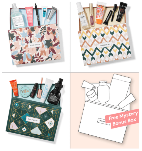 Birchbox Coupon – Free Bonus Box with New 3+ Month Subscriptions