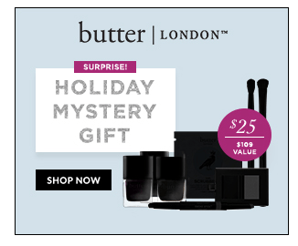 Butter London Holiday 2018 Mystery Box!