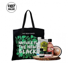 Body Shop 2018 Black Friday Tote