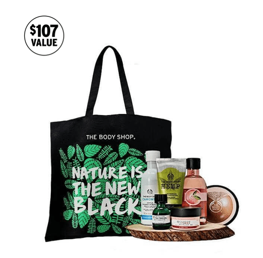The Body Shop 2018 Tote + 40% Black Friday Sale!