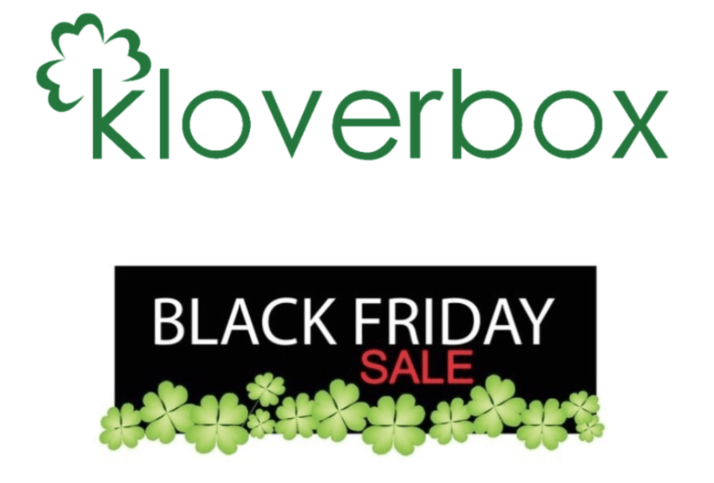 Kloverbox Black Friday / Cyber Monday Coupon Code