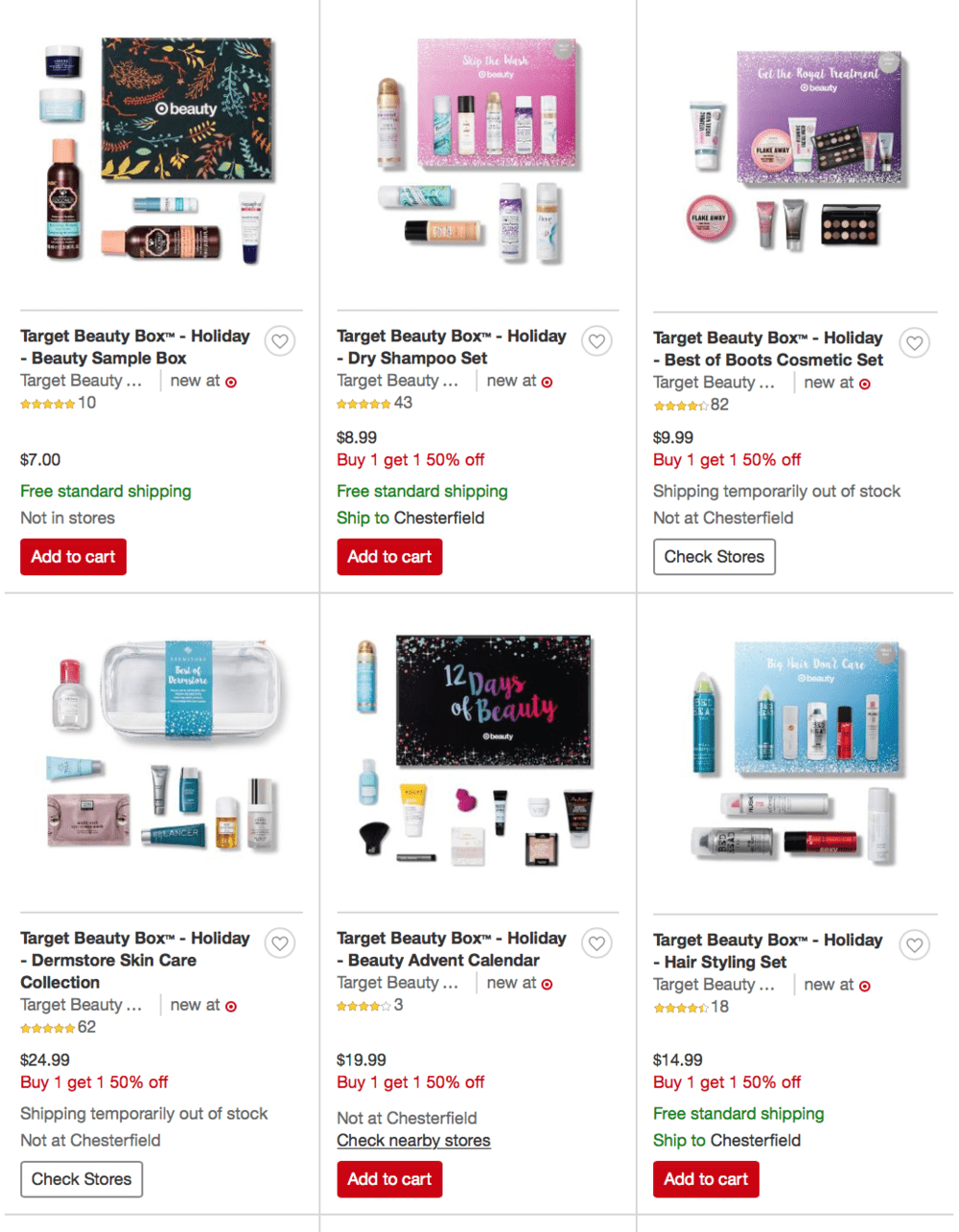 Target Beauty Box Buy One Get One 50 Off Subscription Box