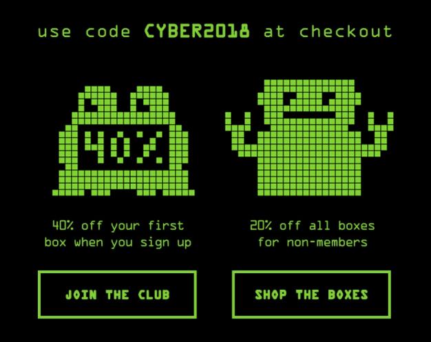 Bespoke Post Cyber Monday Sale – Save 40% Off!