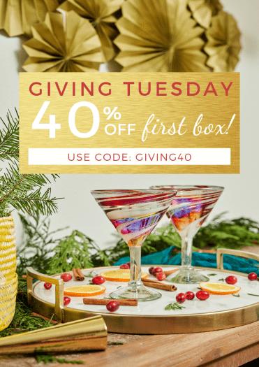 GlobeIn Artisan Box Giving Tuesday Coupon Code – Save 40% Off