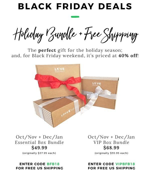 LOVE Goodly Black Friday Sale – 40% Off + Free Shipping!