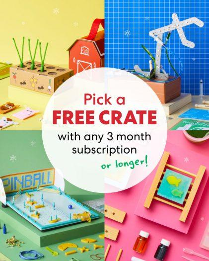 KiwiCo Coupon Code – Free Crate with New Subscription