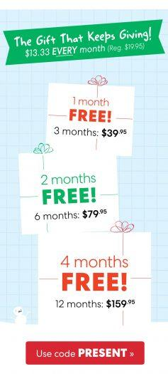 EXTENDED: KiwiCo Holiday Sale – Up to 4-Months Free