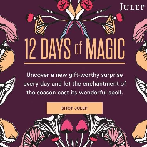 Julep 12 Days of Magic – Day 5 – $25 off $50 Purchase