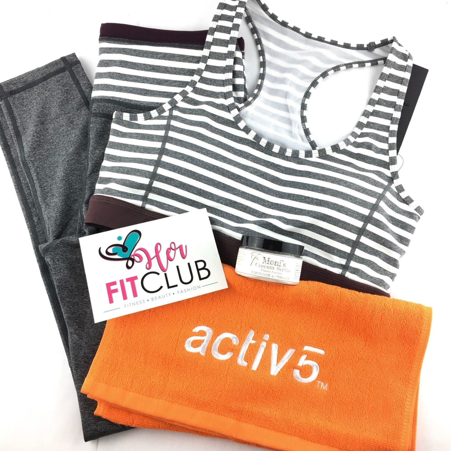 Her Fit Club Review – November 2018