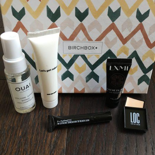 Birchbox Review + Coupon Code – November 2018
