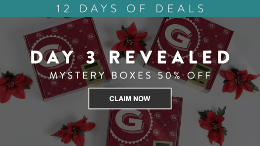 Gentleman's Box 12 Days of Deals – Day 3: 50% Off Mystery Boxes