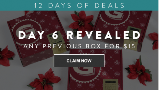 Gentleman's Box 12 Days of Deals – Day 6: Previous Boxes for $15/Each!