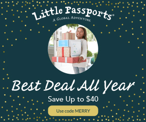 Little Passports Black Friday Sale Is BACK – Save Up to $40!