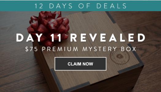 Gentleman's Box 12 Days of Deals – Day 11: $75 Premium Mystery Box
