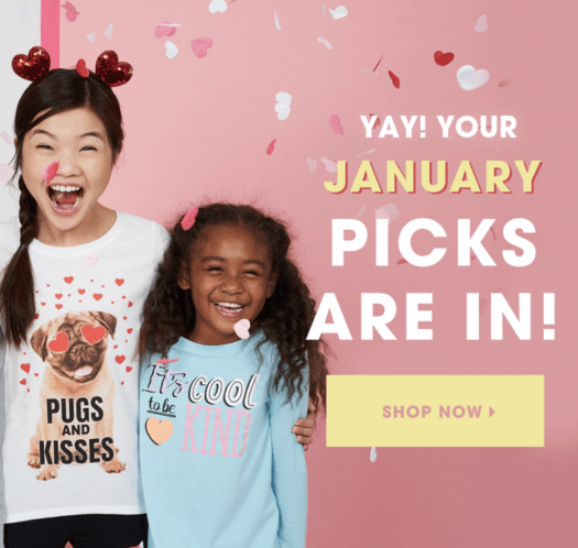 January 2019 FabKids Selection Time + New Subscriber Offer