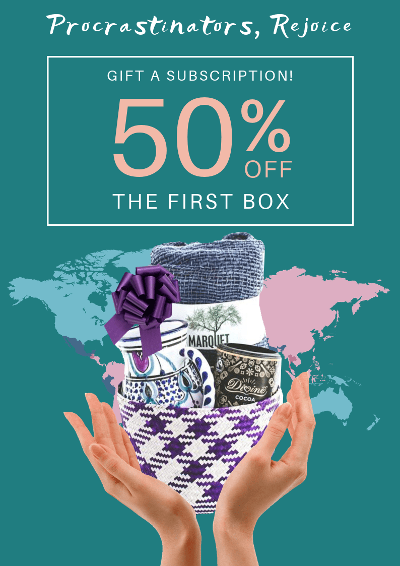 GlobeIn Gift a Subscription, Save 50% Off Your First Box!