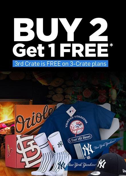 Sports Crate MLB Diamond Crate Coupon Code – Buy 2, Get 1 Free