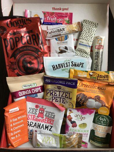 Love With Food Review + Coupon Code – November 2018 Deluxe Box