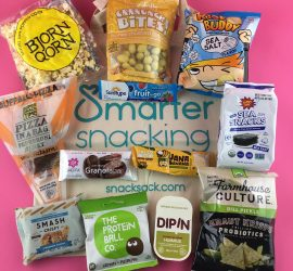 SnackSack Subscription Box Review - September 2018