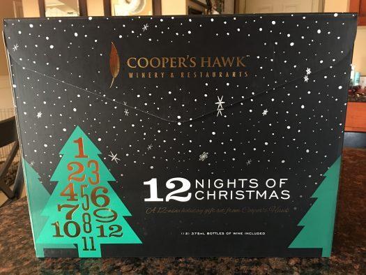 Cooper's Hawk 12 Nights of Christmas Advent Calendar Mini Review