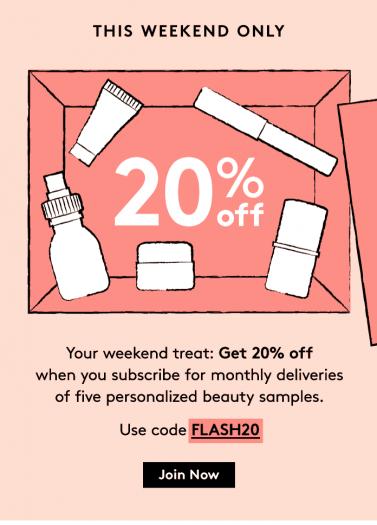 Birchbox 20% off Subscriptions!!