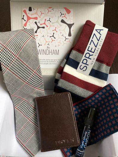 SprezzaBox Review + Coupon Code – February 2019