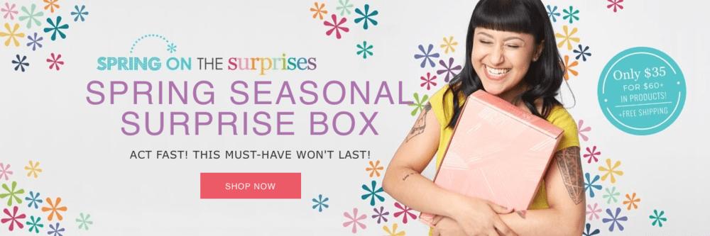 Erin Condren Spring 2019 Seasonal Surprise Box – ON SALE NOW + Sneak Peek!