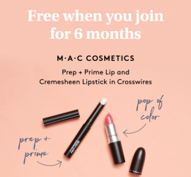 Birchbox Coupon - FREE Mac DUO with New 6-Month Subscriptions