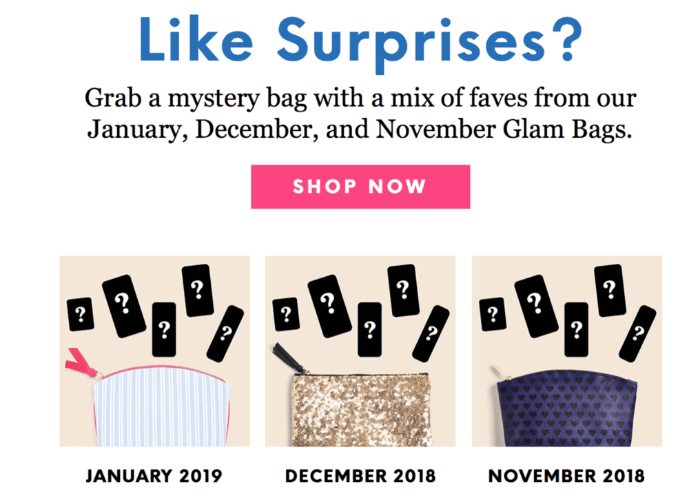 ipsy Mystery Glam Bags – On Sale Now!