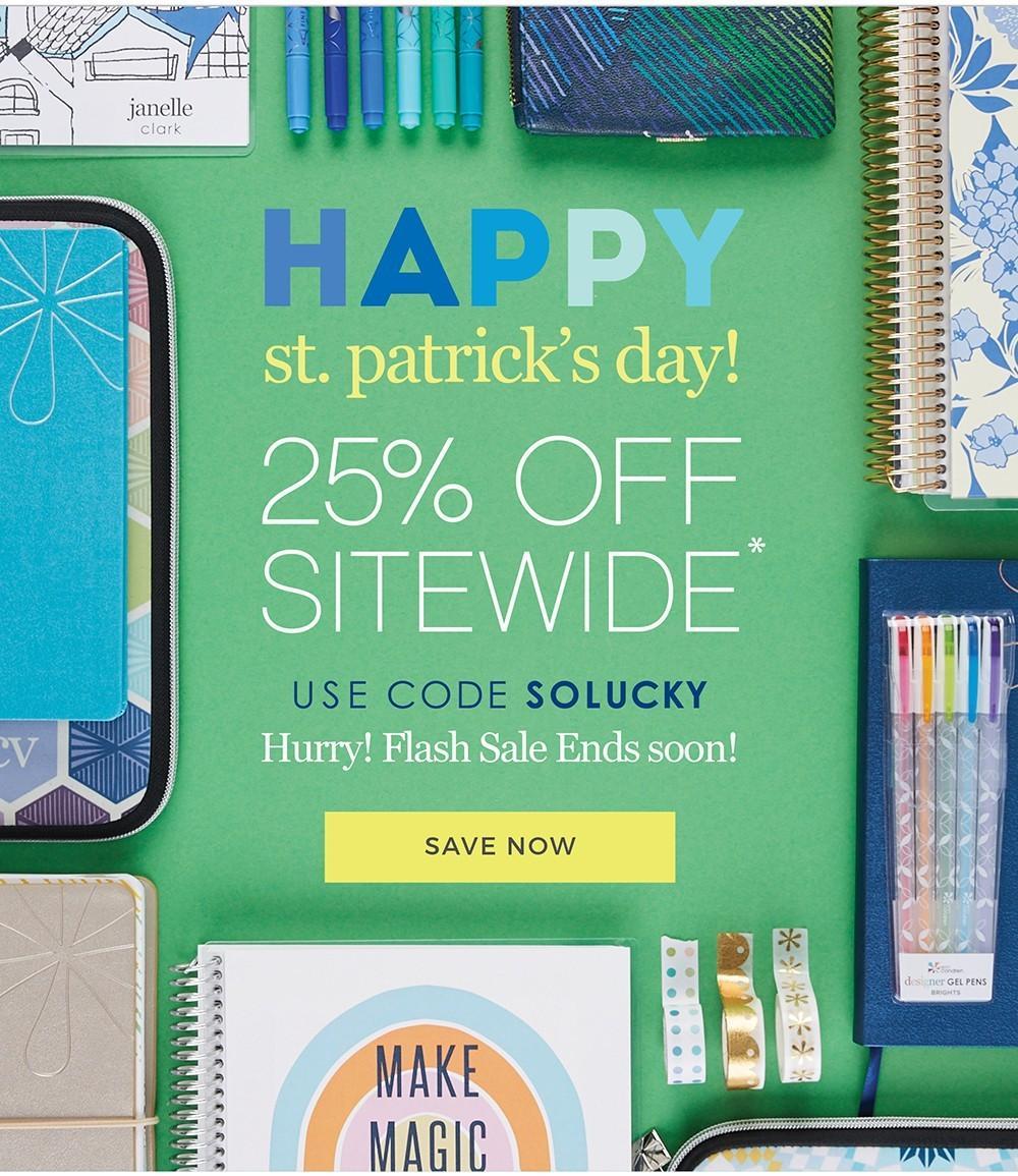 Erin Condren Flash Sale – Save 25%!